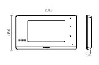 Chuông cửa có hình Samsung SHT 7017 1