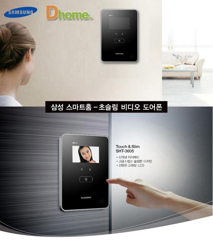 Kết quả hình ảnh cho BỘ VIDEO DOORPHONE SHT-3605PM/EN